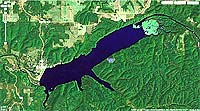 Lake Spavinaw Map and Directions